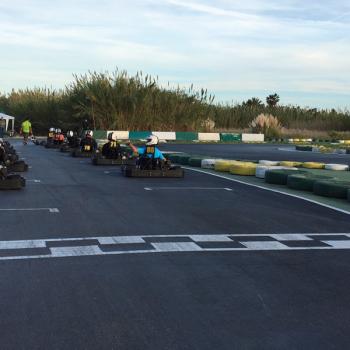 Teambuilding Kart fahren